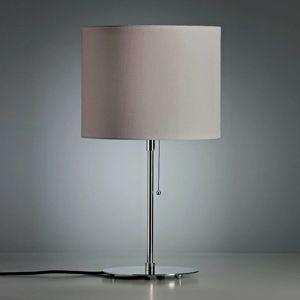 TECNOLUMEN Walter Schnepel, stolná lampa sivá