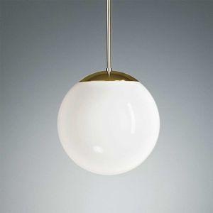 TECNOLUMEN HL 99 zavesená lampa 20cm mosadz