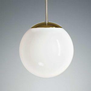 TECNOLUMEN HL 99 závesná lampa 30 cm mosadz