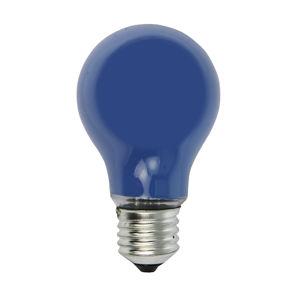 Heitronic E27 25W modrá žiarovka pre svetelnú reťaz