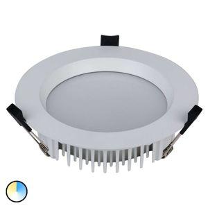 Zapustené LED svetlo Tyrien 3000K–5700K biele