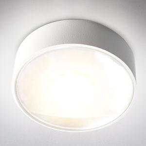 Heitronic Vonkajšie stropné LED svietidlo Girona, biele