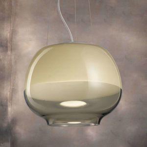 Dizajnová závesná lampa Mirage SP, dym