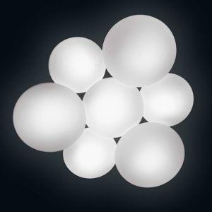 Vibia Puck sedem-plameňové stropné svietidlo