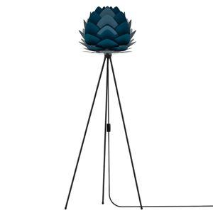 UMAGE Aluvia mini stojaca lampa čierna/modrá