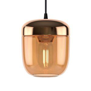 UMAGE Acorn závesná lampa 1-pl. jantár mosadz