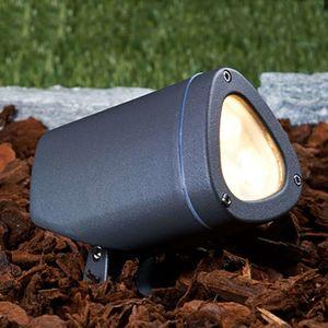 Outdoor bodové LED svetlo Esma 2700 K výkyvné