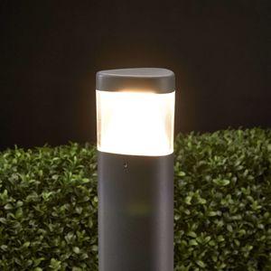 Stĺpikové LED svietidlo Milou z hliníka