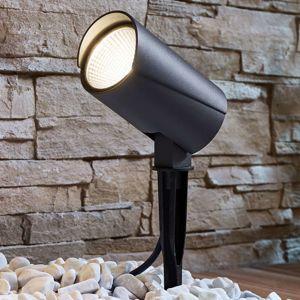 Vonkajšie LED svietidlo Anton hrotom do zeme