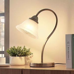 Zakrivená stolná lampa Mialina E27 LED