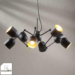 8-plameňové závesné LED svietidlo Morik easydim