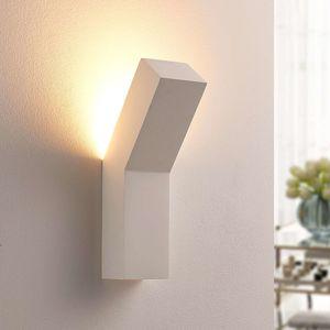 Moderné sadrové nástenné LED svietidlo Tida