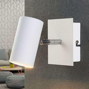 Biele bodové LED svetlo Iluk na stenu a strop