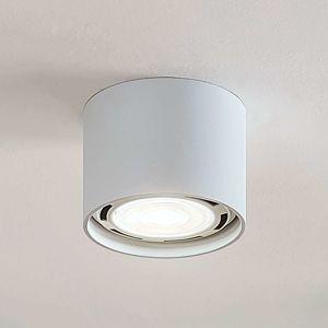 Stropné LED svietidlo Mabel okrúhle biele