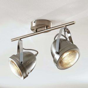 Stropná lampa Zoja, dve svetlá