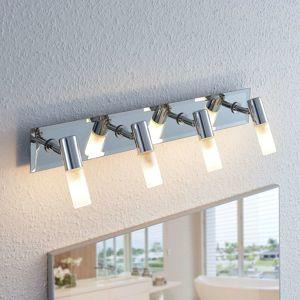 Kúpeľňová stropná lampa Zela, 4 svetlá, 53 cm dlhá