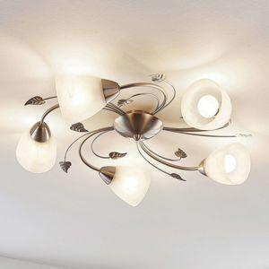 Lindby Lindby Yannie stropné LED svietidlo, 5-plameňové