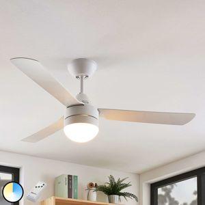 Lindby Andi osvetlený stropný ventilátor, E14