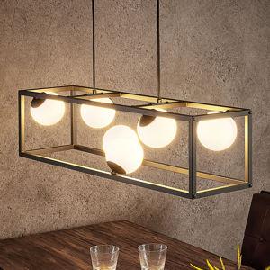 Lindby Lindby Utopia závesné LED svietidlo šesť-plameňové