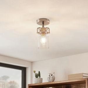 Lindby Lindby Vintus stropná lampa, nikel