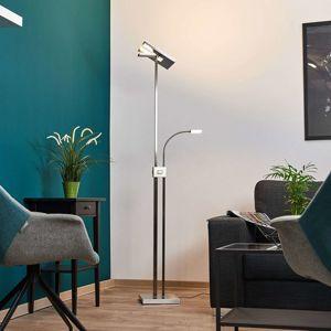 Hranaté stropné LED svietidlo Nala, stmievateľné