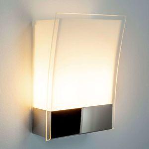 Moderné nástenné svietidlo Malthe zo skla a kovu