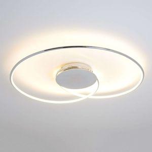 Stropné LED svietidlo Joline chróm 74 cm