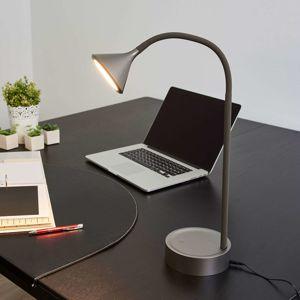 Nastaviteľná stolná LED lampa Ellister USB