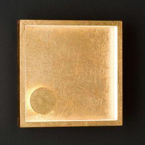 Vonkajšie nástenné LED svietidlo Letizia, zlaté