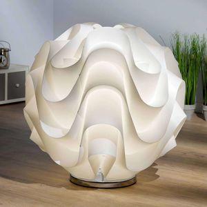 Stolná lampa Maya, guľa 65cm