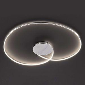 Stropné LED svietidlo Opus, hliník, dĺžka 90 cm