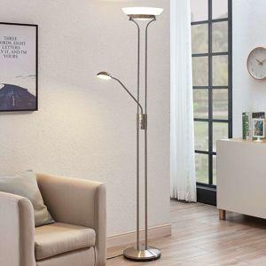 Stropné LED svietidlo Dimitra lampa čítanie nikel