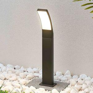 Lindby Chodníkové LED svietidlo Ilvita antracit