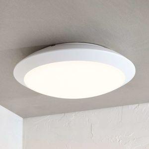 Vonkajšie stropné LED svietidlo Naira biele snímač