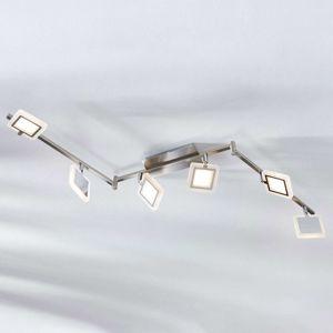 Stropné LED svietidlo Evelina, 6-plameňové