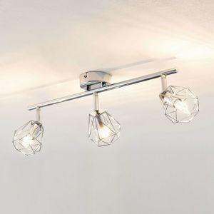 Lindby Giada stropné LED svietidlo troj-plameňové