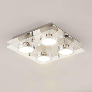 Lindby Gabryl stropné LED svietidlo, 4-plameňové