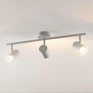 ELC Tomoki stropné LED svietidlo biele, 3-pl.