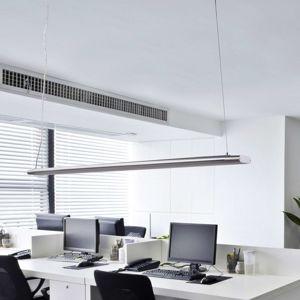 Dlhá závesná lampa Vinca so silnými diódami LED