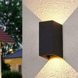 Obojstranne nástenné LED svetlo Kimian exteriér