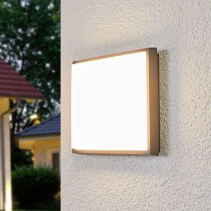 Štvorcové vonkajšie stropné LED svietidlo Amra