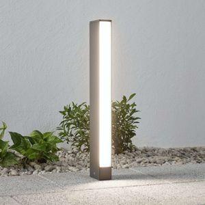 Chodníkové LED svietidlo Lirka tmavosivé 1pl