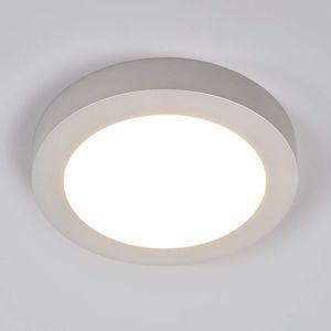 Stropné LED Marlo striebro okrúhle 25,2cm