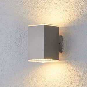 Žiariace vonkajšie nástenné LED svietidlo Lydia