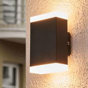 Nadčasové nástenné LED svetlo Aya exteriér IP44