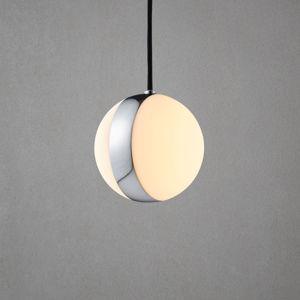 Herstal Závesná lampa Circle s dekoratívnym prstencom