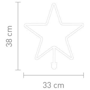 Sompex LED žiarovka Hviezda E27 12 W teplá biela 1200lm