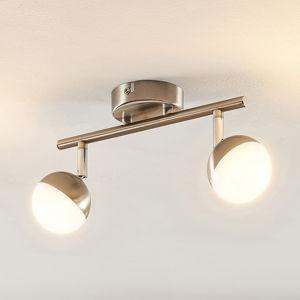 Lindby Lindby Lientje stropné LED svietidlo, 2-plameňové